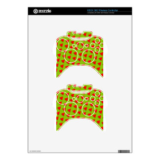 Watermelon pattern xbox 360 controller skins