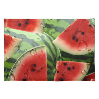 Watermelon Picnic American Mojo Placemat
