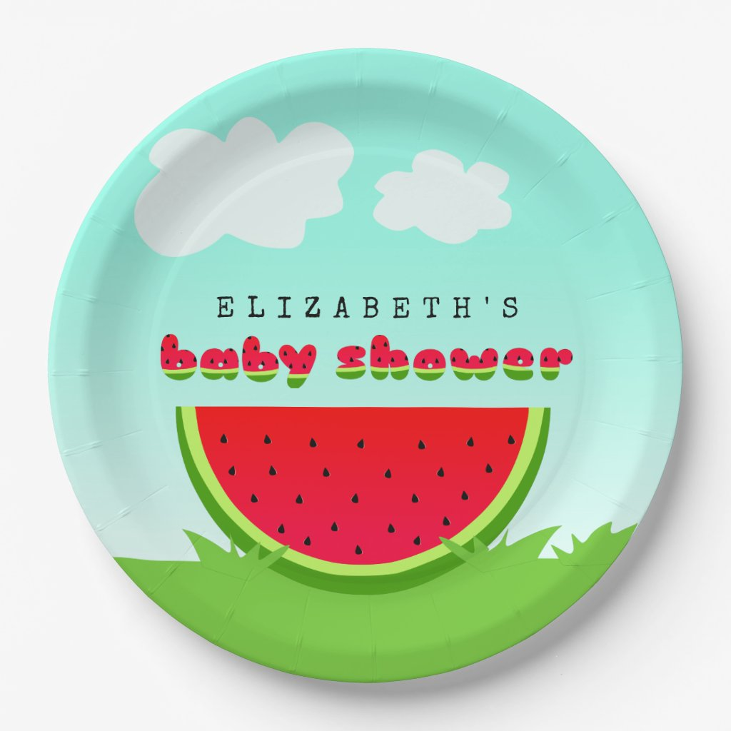 Watermelon Picnic Baby Shower
