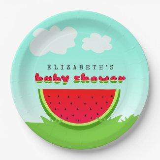 Watermelon Picnic Baby Shower