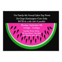Watermelon/ Picnic Invitation