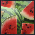 "Watermelon Picnic Napkin<br><div class=""desc"">A graphic watermelon design on a picnic napkin.  &#169;2012charmainepaulson</div>"