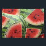 "Watermelon Picnic Summertime Placemat<br><div class=""desc"">A graphic watermelon design on a picnic placemat. &#169;2012charmainepaulson</div>"