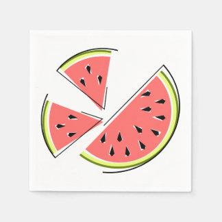 Watermelon Pieces napkins paper