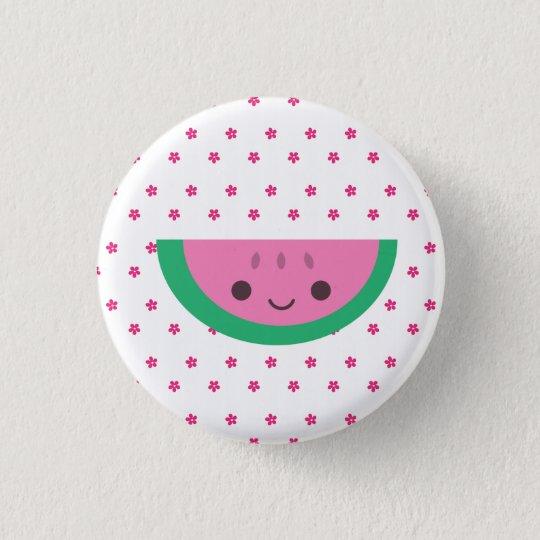 Watermelon Pinback Button