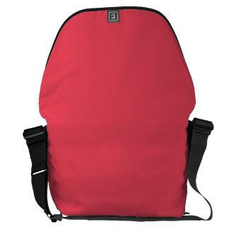 WATERMELON PINK (solid color background) ~ Messenger Bag
