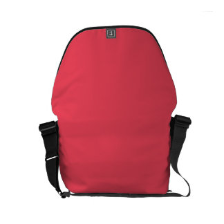 WATERMELON PINK (solid color background) ~ Small Messenger Bag
