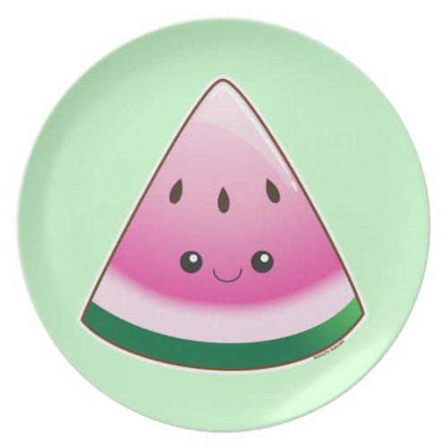 Watermelon fuji_plate
