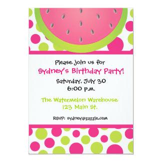 Watermelon Invitations & Announcements   Zazzle