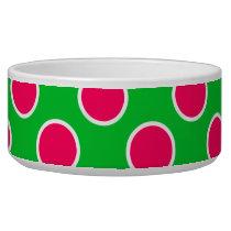 Watermelon Polka Dots Bowl