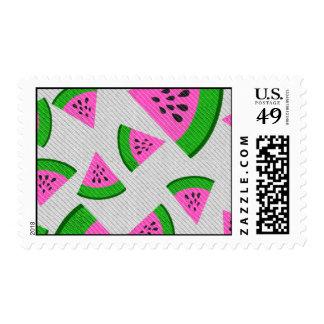 Watermelon Postage Stamp