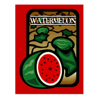 Watermelon Postcard