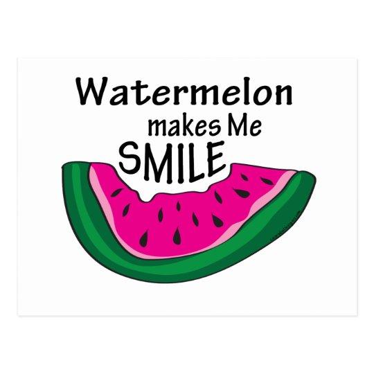 Watermelon Postcard