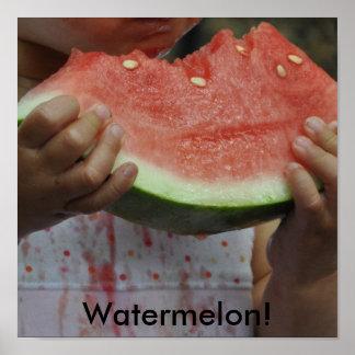 Watermelon! Print