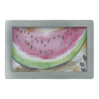Watermelon Rectangular Belt Buckle
