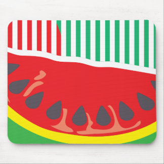 Watermelon red mousepad