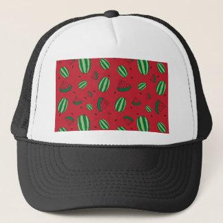 Watermelon Red Pattern Trucker Hat