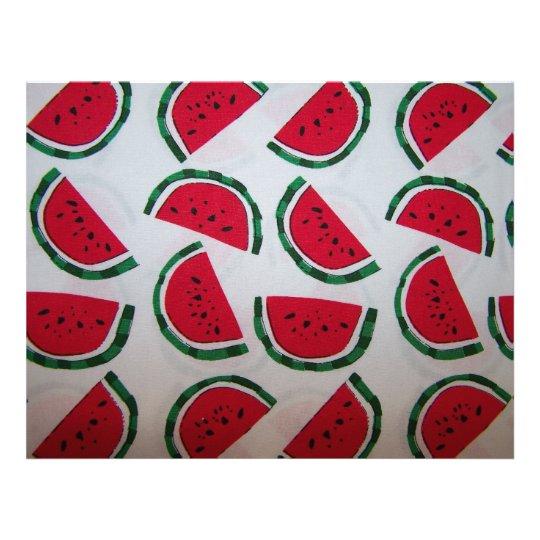 Watermelon Scrapbooking Paper
