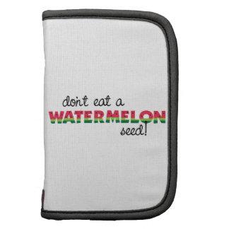 Watermelon Seed! Folio Planners