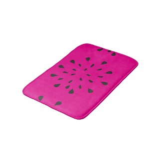 Watermelon Seeds Bath Mat Bath Mats