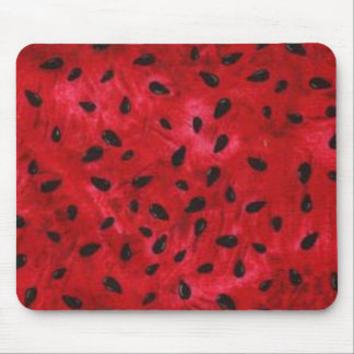 Watermelon Seeds Mousepad
