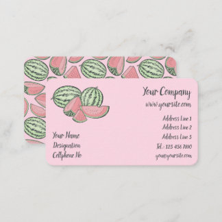 Watermelon Sketches Business Card