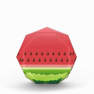 Watermelon slice background acrylic award