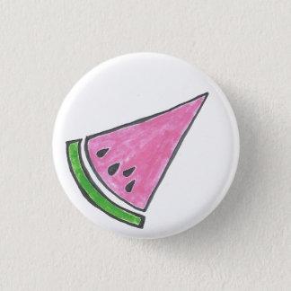 Watermelon Slice Button