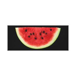 Watermelon Slice Canvas Print