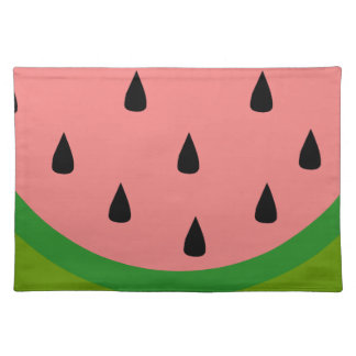 Watermelon Slice Cloth Placemat