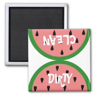 Watermelon Slice Dirty/Clean Magnet