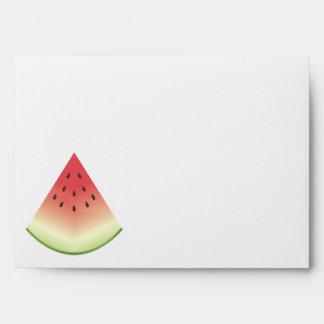 Watermelon Slice Envelope