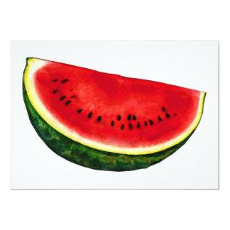 Watermelon Slice 5x7 Paper Invitation Card