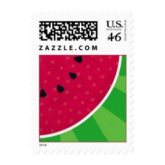 Watermelon Slice Postage stamp