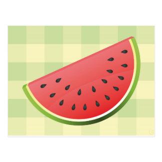 Watermelon Slice Postcard