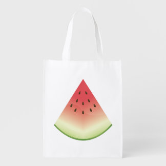 Watermelon Slice Reusable Grocery Bag