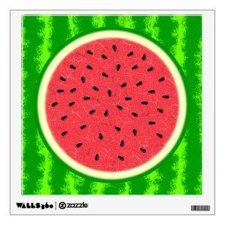 Watermelon Slice Summer Fruit with Rind Wall Skins