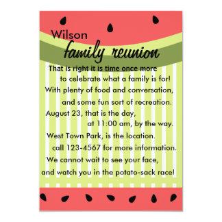 Watermelon Slices Card