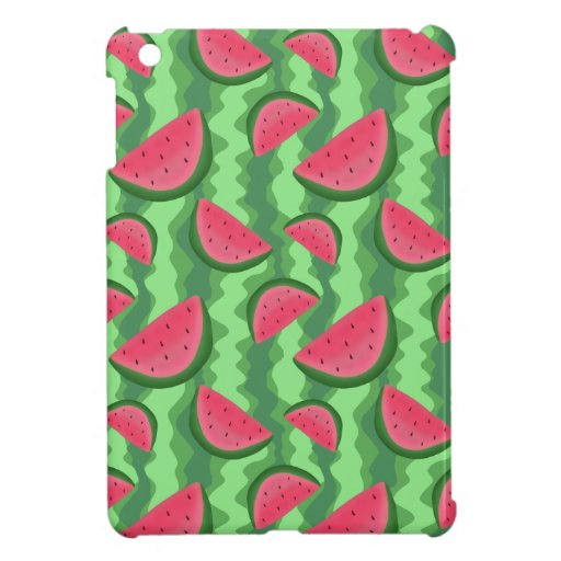 Watermelon Slices Pattern iPad Mini Covers