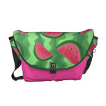 Watermelon Slices Pattern Messenger Bags