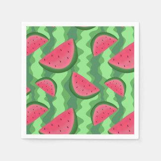Watermelon Slices Pattern Paper Napkin