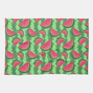 Watermelon Slices Pattern Towel
