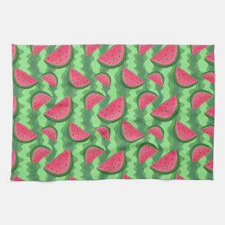 Watermelon Slices Pattern Towel