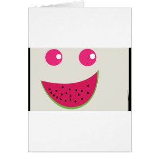 Watermelon Smile Card
