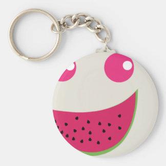 Watermelon Smile Keychain