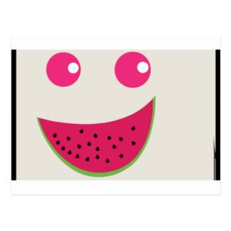 Watermelon Smile Postcard