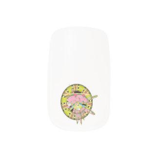 Watermelon Splash Frog Minx ® Nail Art