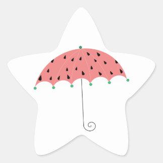 Watermelon Spring Umbrella Sticker