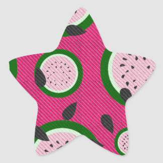 Watermelon Sticker Shapes