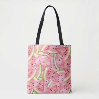 Watermelon Summer Fresh Pattern Tote Bag
